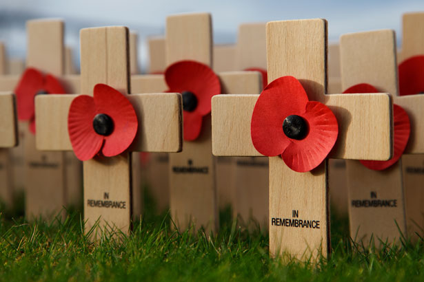 Remembrance day in Cockermouth 2019